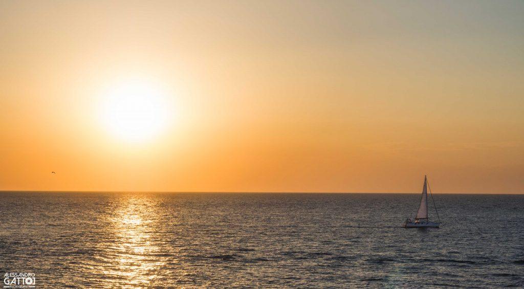 pomeriggio in barca a vela a gallipoli con Madeingallipoli