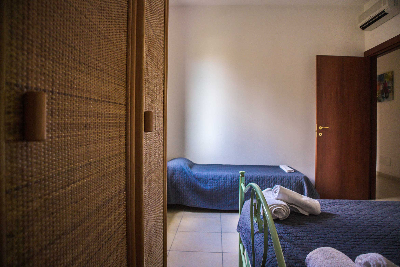 dettaglio della stanza tripla Crepuscolo nel Bed&Breakfast La spiaggia di MadeInGallipoli