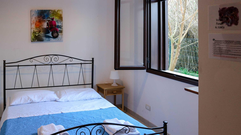 veduta della stanza matrimoniale Tramonto nel Bed&Breakfast La spiaggia di MadeInGallipoli